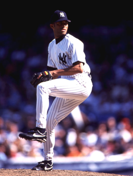During Mariano Rivera's time with in New York the Yankees won five World Championships. (Michael Ponzini/National Baseball Hall of Fame and Museum)