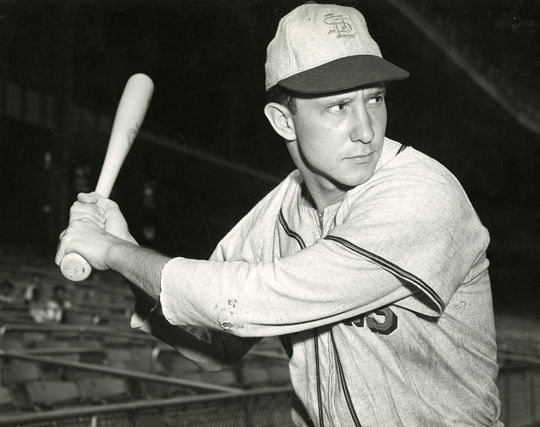 Roy Sievers stayed connected to baseball following his retirement by attending St. Louis Browns reunions and becoming a member of the Browns Historical Society. (National Baseball Hall of Fame and Museum)