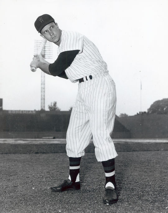 The Washington Senators acquired Roy Sievers in February of 1954 for Gil Coan. (National Baseball Hall of Fame and Museum)