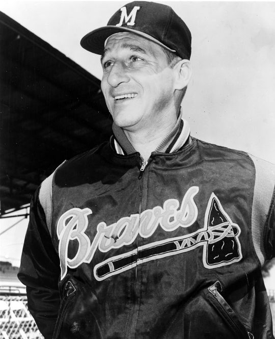 Warren Spahn pitched in the big leagues for 21 seasons, winning 20-or-more games 13 times and finishing with 363 victories, a record for left-handers. (National Baseball Hall of Fame and Museum)
