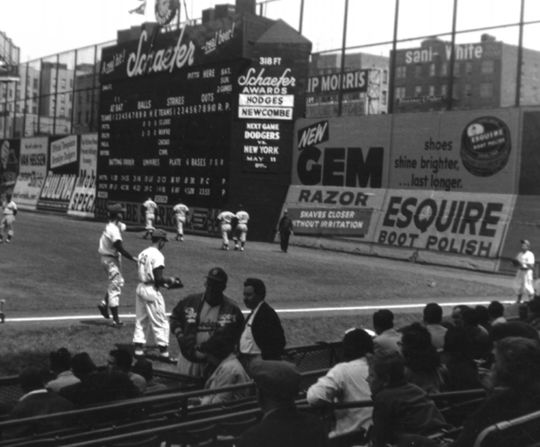 Ebbets Field, Brooklyn, NY, 1956 - BL-176-2000-crop (Pardon/National Baseball Hall of Fame)