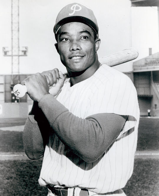 Tony Taylor played in the big leagues for 19 seasons, including three as a teammate of Mike Schmidt on the Phillies. (National Baseball Hall of Fame and Museum)