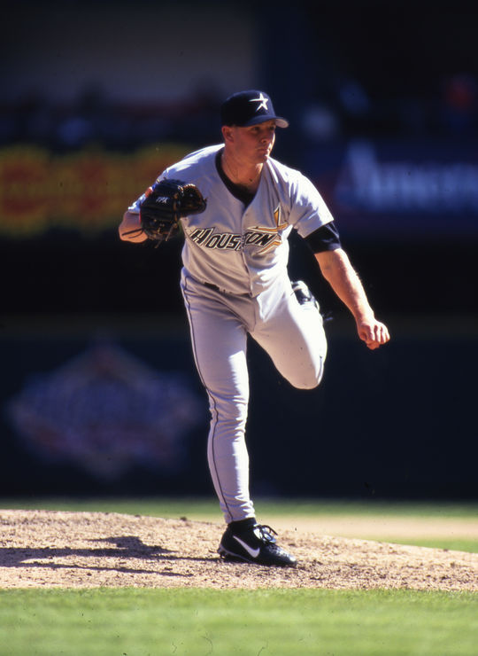 Billy Wagner recorded 422 career saves, second-highest among left-handed relievers and sixth overall. (Michael Ponzini/National Baseball Hall of Fame and Museum)