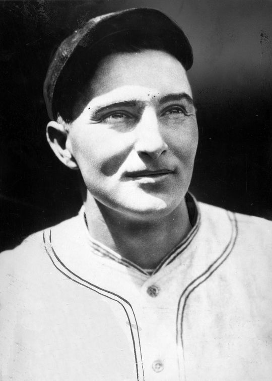 """Although he went hitless in the 1943 Hall of Fame game, future Hall of Famer Paul Waner made """"three gaudy catches"""" in the outfield according to <em>The New York Times</em>. (National Baseball Hall of Fame and Museum)"""