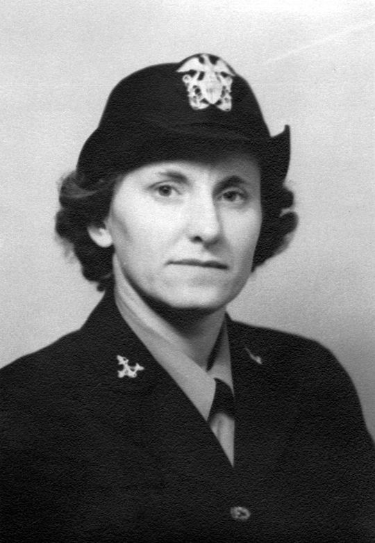 Following graduation from Indiana State Teacher's College, Margaret Gisolo (pictured above) was a Girl Scouts director, and then joined the Navy WAVES during World War II. (National Baseball Hall of Fame and Museum)