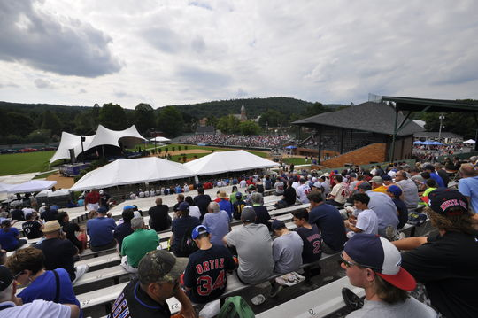 The Awards Ceremony at Doubleday Field on Saturday, July 26, 2014 (Milo Stewart Jr./National Baseball Hall of Fame)