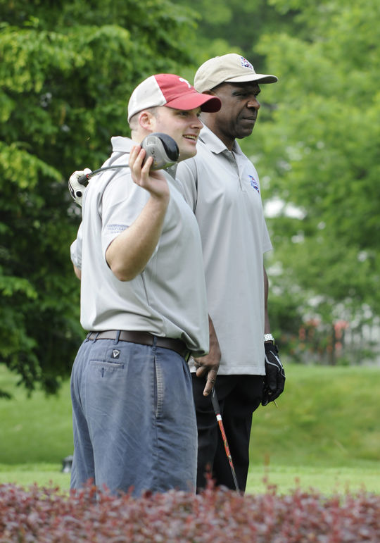 Hall of Famer Andre Dawson during the 2011 Hall of Fame Golf Classic. (Milo Stewart, Jr./National Baseball Hall of Fame)