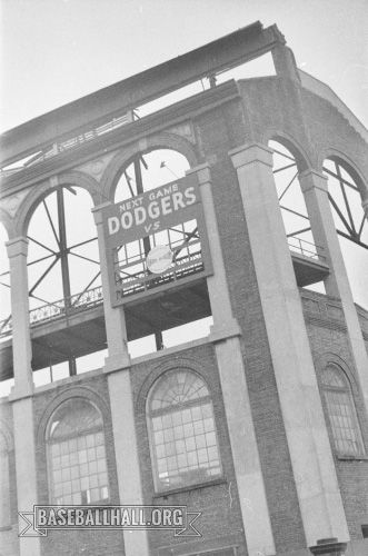 At the end of the 1957 season, the Brooklyn Dodgers left New York and Ebbets Field and moved to California, where they became the Los Angeles Dodgers. (Sam Stein)
