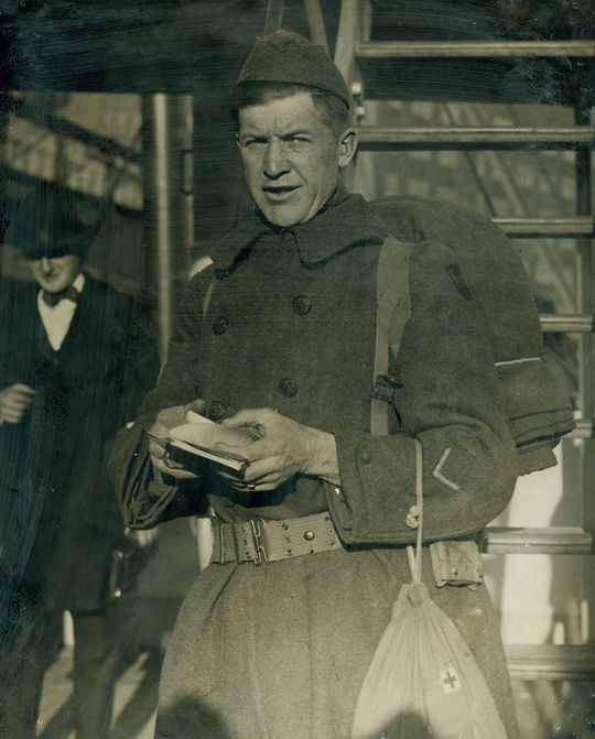 Sergeant Alexander in the US Army, 1918. BL-1451.68WTg (National Baseball Hall of Fame Library)