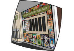Sponsor a Baseball Card Drawer