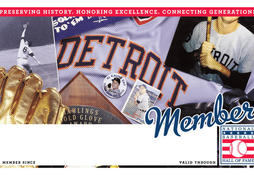 Tigers Membership Card